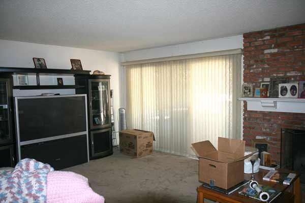 Living Room Before