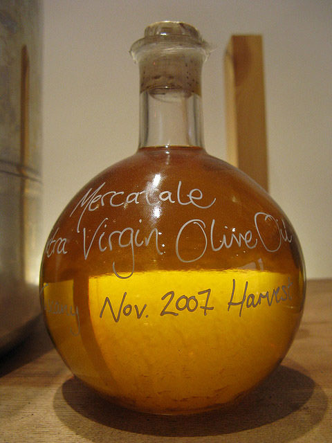 Vacation rental olive oil