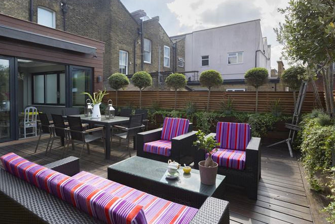 Vacation Rental Patio on Putney High Street