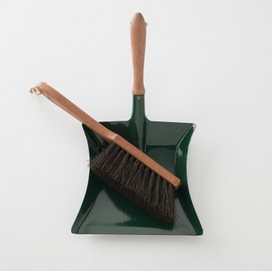 Hand Broom and Dust Pan by Schoolhouse Electric