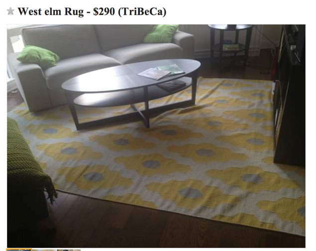 Flatweave Rug from West Elm