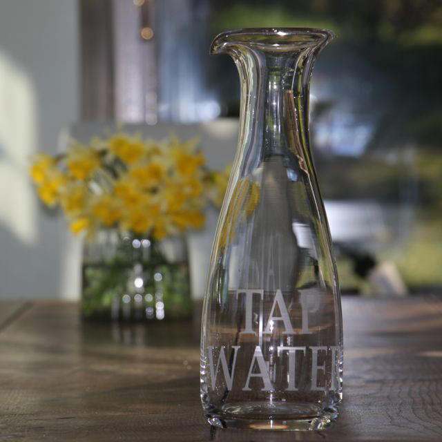 Luxury Lab's Water Carafe