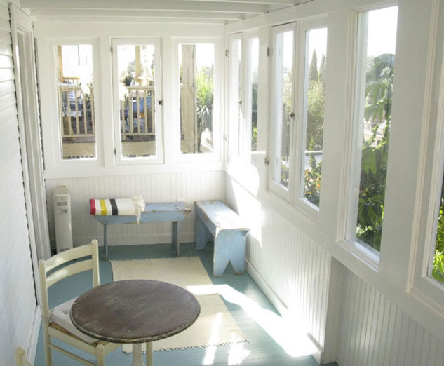 Sun Room in Silver Lake cottage rental