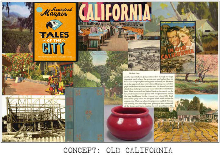 Vacation Rental Old California Concept