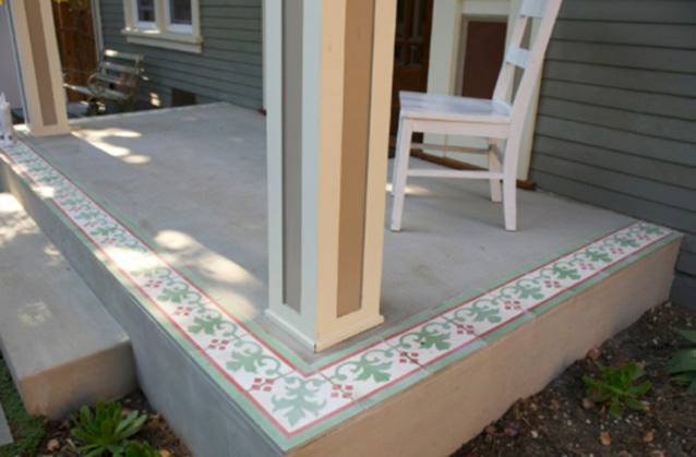 Silverlake Vacation Rental Porch
