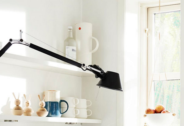 Tolomeo Swing Arm Lamp by Artemide