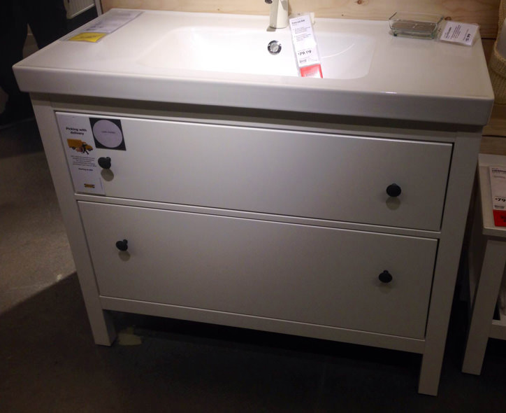 Ikea Hemnes Bathroom Vanity Reviews Thedancingpa Com