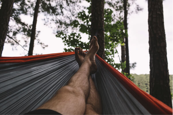 vacation rental hammock