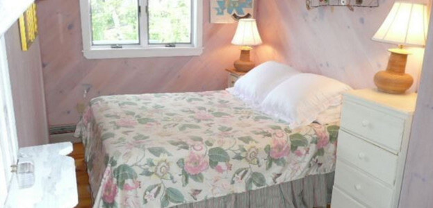 Ugly bed in a vacation rental