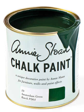 Annie Sloan chalk paint is very forgiving of most surfaces and has the power to transform ugly wooden cabinets.