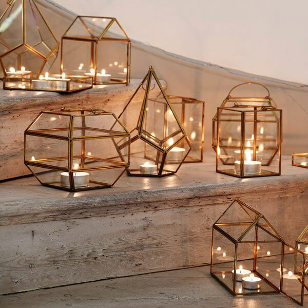 vacation rental candle holders