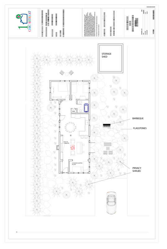 ARCHITECTURAL PLAN VACATION RENTAL