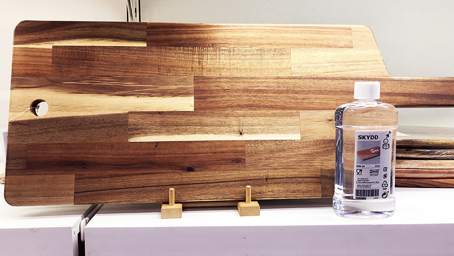 ikea cutting board airbnbs