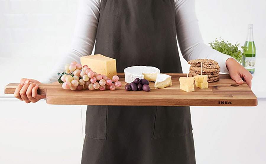 airbnb cutting board from Ikea