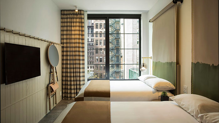 1 Chic Retreat features Moxy Hotel Chelsea